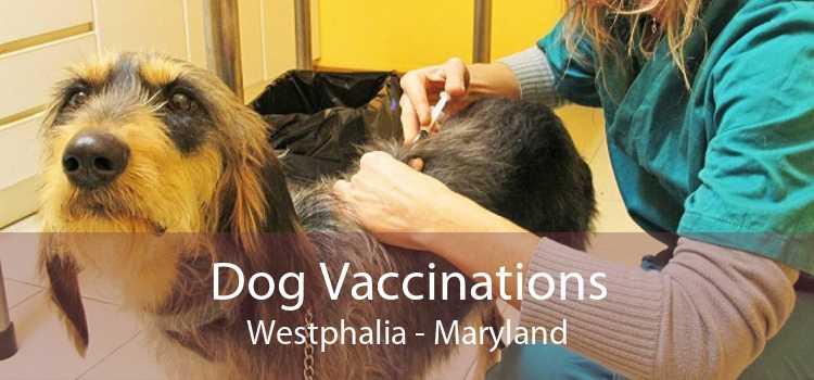 Dog Vaccinations Westphalia - Maryland